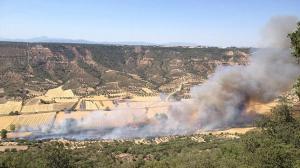 incendio declarado en muduex