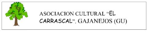 Programa de la XX Semana Cultural de la Asociación Cultural ElCarrascal
