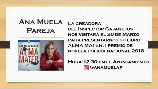 """Presentación del libro """"Alma Mater"""" enGajanejos"""